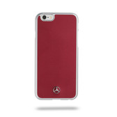 Mercedes-Benz Metallic Plate Hard Case for iPhone 6 / 6s - Red