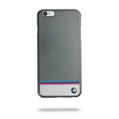 BMW Multi Stripe Aluminum Plate  Hard Case for iPhone 6 / 6s - Gray