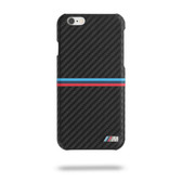 BMW Carbon Inspiration Stripe Horizontal Hard Case Black for iPhone 6 / 6s Plus - Black