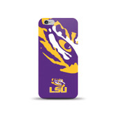 NCAA Louisiana State University Tigers Sports XL TPU Case for iPhone 6 / 6s