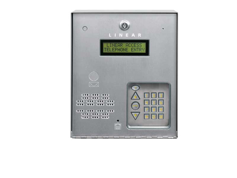 Ae 100 Linear Commercial Telephone Entry System One Door Qty 1