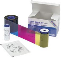 534000-004 Datacard Half Panel Color Ribbon & Cleaning Kit YMCKT - 650 Prints {map:137}