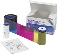 534000-112 Datacard Color Ribbon & Cleaning Kit YMCKT 125 prints {map:56.25}
