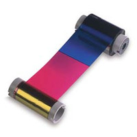 552854-502 Datacard Full Color YMCK Multi Panel Ribbon, fits SP75 Series Printers - 500 Prints {map:98.62}