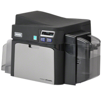 52010 Fargo DTC4250e ID Card Printer Single-Sided with Magnetic Stripe Encoding {map:3498}