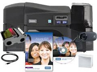 52600 Fargo DTC4250e Single-Sided ID Card System {map:3799}