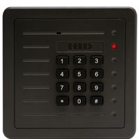 5352AGK00 HID ProxPro Proximity Card Reader Charcoal Gray with Keypad - Qty. 1
