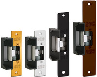 45-A SDC Universal Electric Strike with 3 Different Faceplates, Failsecure/Failsafe, 12/24V AC/DC - Qty. 1