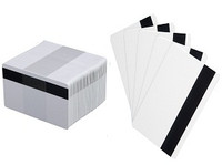 C4003 - Classic Blank White Cards with HICO Magnetic Stripe - Qty. 500