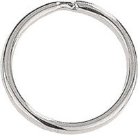 "6920-1025 Round-Edge Split Ring 1 1/16"" Nickel-Plated Steel"