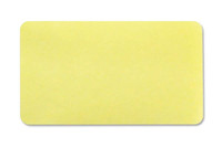 "04084 Thermal-printable Yellow, Non-expiring Printable Adhesive Badge, 2.125"" X 3.8125"" - Pkg. of 1,000"