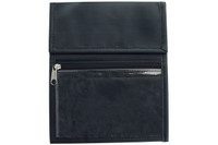 1860-3151 Black Nylon Credential Wallet with Two Hooks - Qty. 100