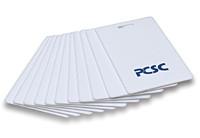 PC-27 PCSC Plain White PVC Proximity Card - 40 Bit Format - Qty. 100