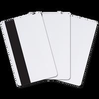 9951M1 Allegion™ (aptiQ™) ISO Glossy White; Combo 125KHz/13.56MHz MIFARE 1K byte/8k bit memory & Magnetic Stripe - Qty. 100