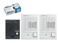 C-123LW Aiphone ChimeCom Dual Master Set - 1 Door Station & 2 Master Stations