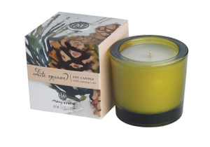 White Spruce Soy Candle- NEW