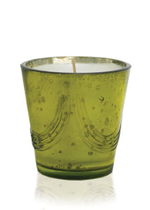 White Spruce Natural Soy Candle in Mercury Glass-12 oz.
