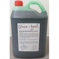 Neutral Dishwashing Liquid Detergent 5L Green Apple Cleaning Chemicals by Eco Chemicals