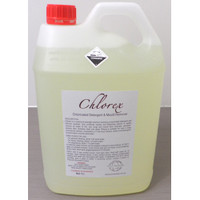 Chlorex Chlorinated Detergent & Mould Remover 5L Cleaning Chemicals by Eco Chemicals
