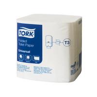 Tork® Folded Toilet Paper T3 Universal 1 Ply 36 Packs x 500 Sheets (718)