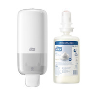 Tork Foam Soap S4 System Starter Pack (520501 561500) Tork Products