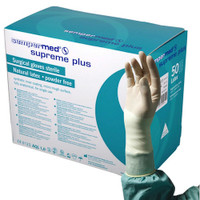 Sempermed Supreme Plus Surgical Gloves Sterile 6.5 Latex Powder Free (SUS822851C)