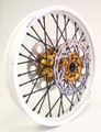Warp 9 DR650 Wheel Set