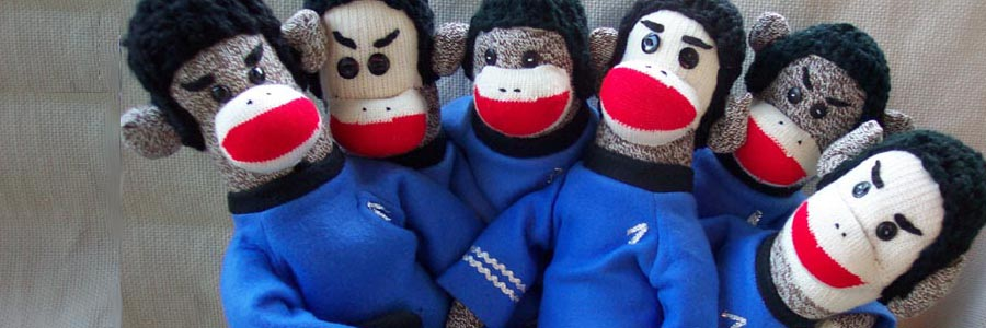 Spock Monkey Sock Monkey