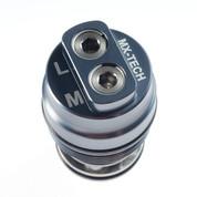 KYB Compression Adjuster Gunmetal Short