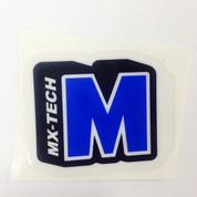 Blue Shock Sticker
