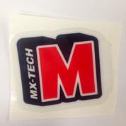 Red Shock Sticker
