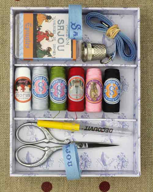 Small Sewing Kit Model #1 from our Sewing Boxes collection.