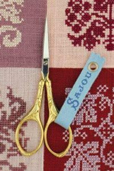 Sajou Peacock Scissor - Gilded Handle