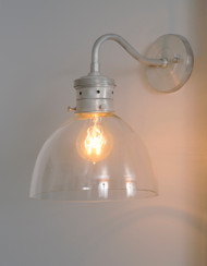 Bell Industrial Style Wall Sconce