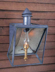French Railroad Station House Lantern