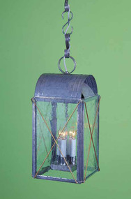 Paul Revere Cross Bar Hanging Lantern Large