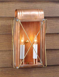 Paul Revere Crossbar Wall Mount Lantern Small