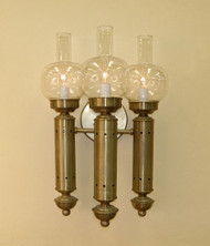 Argand Sconce - Three Arm