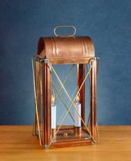 Cross Bar Lantern Table Lamp
