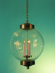 Rupert Optic Glass Pendant Light 6""