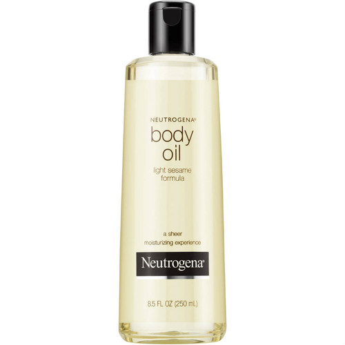 Neutrogena Body Oil, Light Sesame Formula, Fragrance Free - 8.5 oz.