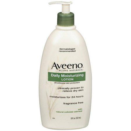 Aveeno Active Naturals Daily Moisturizing Lotion, 18 oz