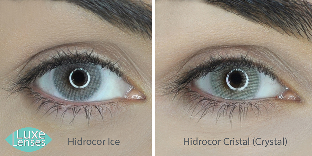 The Difference Between Solotica Hidrocor Ice And Crystal