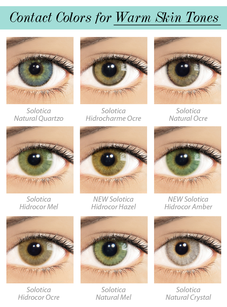 The Perfect Color Contact Lenses For You Luxe Lenses
