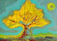 Yellow Framboyan- SOLD.