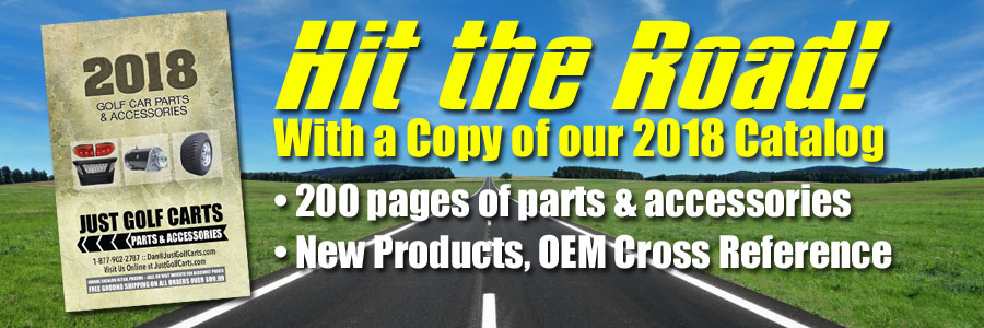 Pre-Order Our 2018 Golf Car Parts and Accessories Catalog