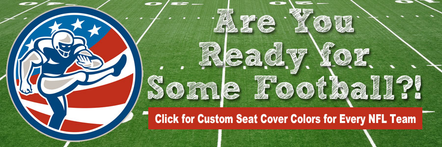 Custom Seat Cover Colors for Every NFL Team