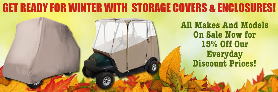 Storage Covers And Enclosures 15% Off