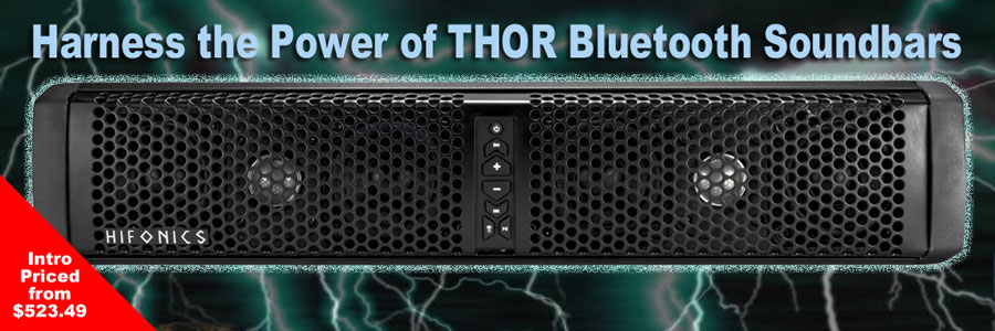 Harness the Power of THOR Bluetooth Soundbars