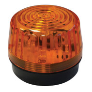Low Profile LED Amber Strobe Light, 12-24 VDC